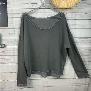 Truly madly deeply by Anthropologie sweatshirt L